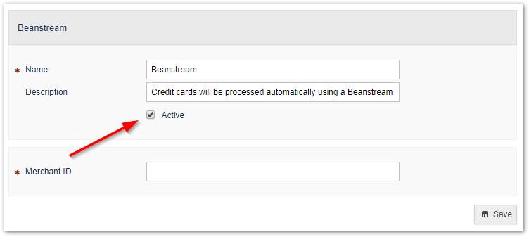 Activating a Payment Gateway